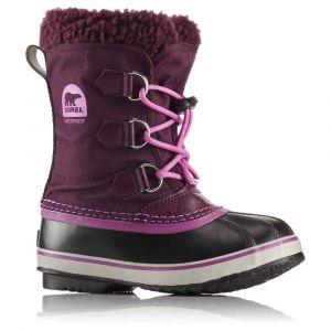 Sorel Chaussures après-ski Yoot Pac Nylon Children - Purple Dahlia / Foxglove - Taille EU 31