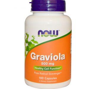 Now Foods Graviola - 100 Capsules