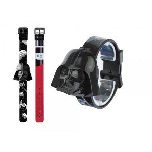 Image de Zeon Ltd Montre pour enfant Star Wars Digitale 3D Darth Vader avec bracelet interchangeable