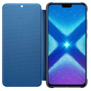 Honor Flip Cover Bleu 8X