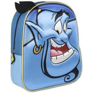 Artesania cerda Mochila Infantil 3D Clasicos Disney Aladdin Sac à Dos Enfants, 31 cm, Bleu