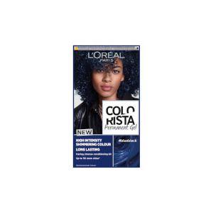 L'Oréal Colorista Blue Black Permanent Gel Hair Dye