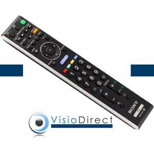 Visiodirect Telecommande RM-ED011 d'origine Sony pour téléviseur