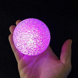 BOULE LED EFFET CRISTAL DIAM 7.5CM