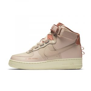Nike Chaussure Air Force 1 High Utility - Crème - Taille 40