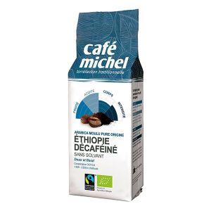 Café michel Décaféiné Ethiopie Moulu 250g