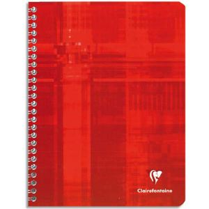 Clairefontaine Cahier piqûre Seyes 100 pages A4
