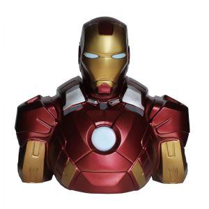 Semic Distribution Tirelire buste Iron Man Marvel Comics