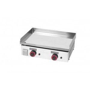 Image de Mainho MAICR60 - Plancha Pro à gaz 2 brûleurs