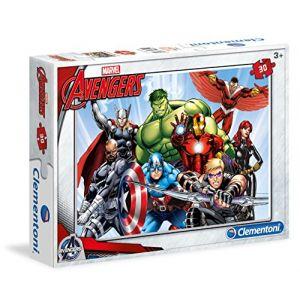 Clementoni Avengers - Puzzle 30 pièces