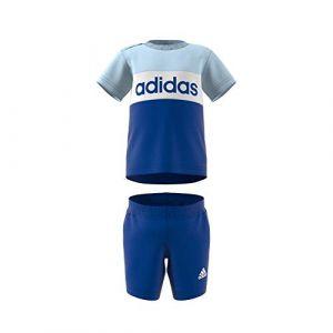 Adidas Ensemble CB Set Bleus - Taille 9-12 Mois