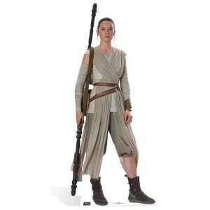 Figurine géante en carton Rey Star Wars