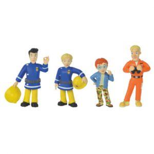 Simba Toys 109251066 Sam Pompier 4 Figurines Série 1