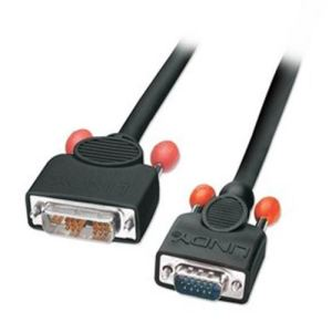 Lindy 41195 - Câble adaptateur DVI-I / VGA 1m