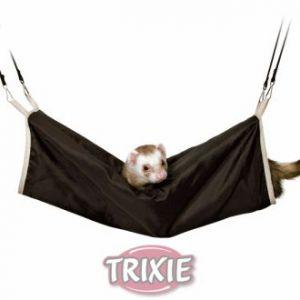 Trixie Tunnel douillet en nylon pour furets