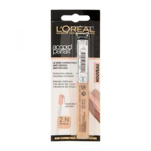 L'Oréal Accord Parfait - Soin correcteur Touche Magique 2N Vanille