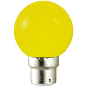 Vision-El Ampoule Led Jaune 1W (9W) B22 Bulb -