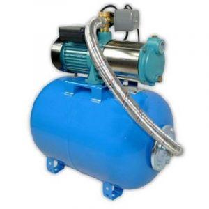 Omni Pompe d'arrosage POMPE DE JARDIN pour puits 1300W 400V 100l/min avec ballon surpresseur 24L