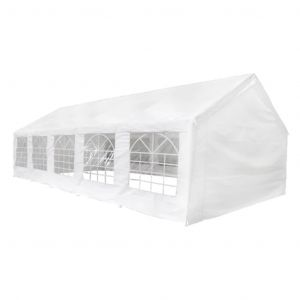 VidaXL Tente de réception 10 x 5 m Blanc