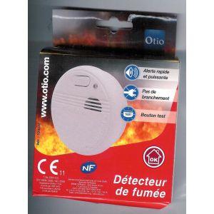Otio Détecteur de fumée 520032 NF 1 an