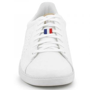 Le Coq Sportif COURTSTAR Craft, Baskets Hommes, Blanc Optical White/Croissant, 42 EU