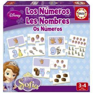 Educa J'apprends les nombres : Princesse Sofia