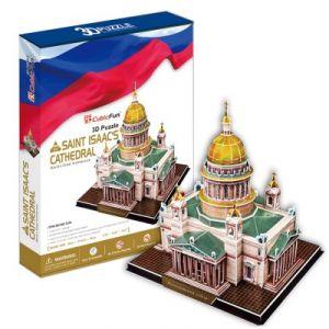 CubicFun Russie : Cathédrale Saint-Isaac de Saint-Pétersbourg - Puzzle 3D 105 pièces