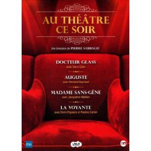 Coffret Au théâtre ce soir - Docteur Glass + Auguste + Madame sans gêne + La voyante
