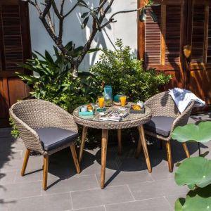 de jardin places Ensemble de et 2 table 1 2 mobilier W9YE2HID
