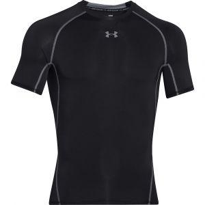 Under Armour T-Shirt Compression HeatGear manches Courtes Under Armour -Noir - L - Noir