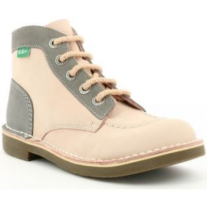 Kickers Boots enfant Kick Col rose - Taille 36,35