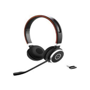 Jabra Evolve 65 MS Stéréo -  Casque sans fil Bluetooth avec microphone