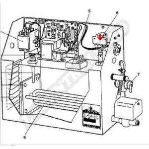 Procopi 1881005 - Électrovanne de générateur de vapeur MR Steam MS et CT