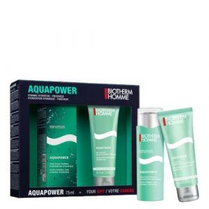 Biotherm Coffret Aquapower - Gel douche 75 ml + soin hydratant 75 ml