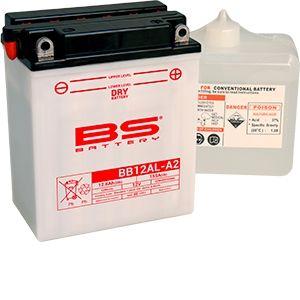 BS Battery Batterie BS BB12AL-A2 conventionnelle livrée avec pack acide