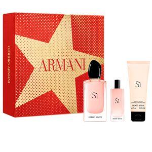 Giorgio Armani Sì Passione - Coffret Eau de Parfum + Lait pour le Corps + Miniature