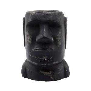 House Doctor Sculpture Wise 16cm Noir