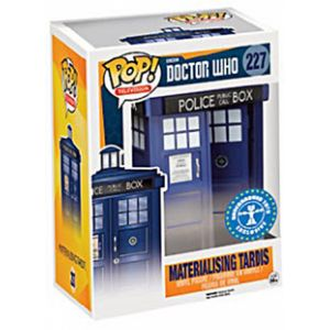 Funko Figurine Pop! Doctor Who Tardis Materialising 15 cm