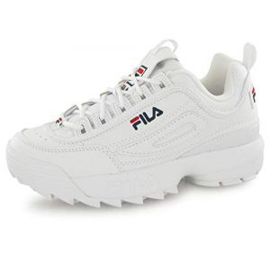 FILA Disruptor Low 1010262-1fg, Sneakers Basses Homme, Blanc