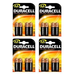 Duracell 16 piles alcalines AA LR06