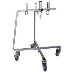 Mondelin Chariot porte seau pliable charge maxi 50 kg,