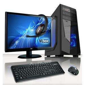 """Vibox VBX-PC-5030 Vision Paquet 2 - AMD A4-6320 et Radeon 8370D avec écran 22"""""""