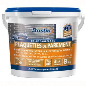 Bostik Colle carrelage - plaquettes parement - 8 Kg