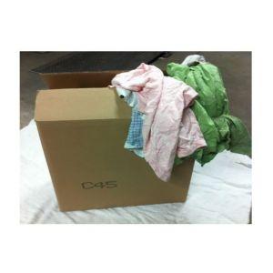 Chiffon essuyage cart.distrib.10kg sweat shirt couleur