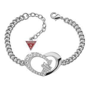 Guess UBB11494 - Bracelet motif Coeur argenté pour femme