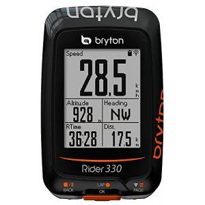 Bryton Compteur Velo GPS Rider 330 T - Cardio & Cadence