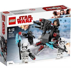 Lego 75197 - Star Wars Les Derniers Jedi : Battle Pack experts du Premier Ordre