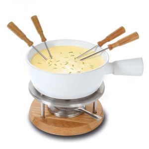 Boska Bianco - Ensemble fondue au fromage 1L