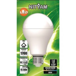 Nityam Ampoule LED STANDARD A60 18W 3000K