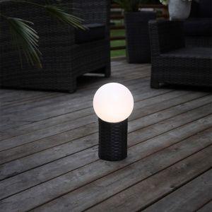 Best Season Boule LED solaire Lug avec socle (479-70)